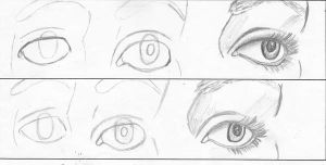 How to draw an eye by cutiedani21