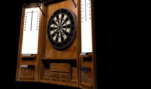 Dartboard by Cunning69Linguist