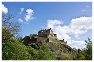 Edinburgh Castle II by FlippinPhil