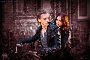 TMI: City of Bones Jace and Clary Wallpaper by MoonChild189
