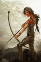 Lara Croft - A legend is born by hinoraito