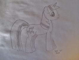 Twilight Sparkle Sketch by SonicAmp