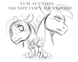 My Little Pony YCH AUCTION GONE by KasaraWolf
