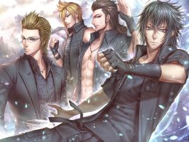 Final Fantasy XV by roman-ranman