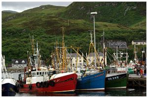 Mallaig Harbour - Part 2 by janey-in-a-bottle