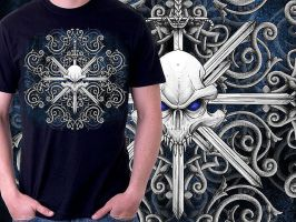 Tribal Swords T-shirt by Oblivion-design