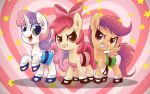 Cutie Mark Crusaders Powerpuff Girls! by steffy-beff