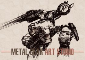 Metal Gear Art Studio - Rex 1 by SolidAlexei