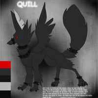 Ref: Quill the Poet by Nasvelliels