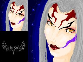 Ultimecia Pixel by MercyMurrain