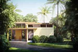 Belize Villa Exterior by StompinTom