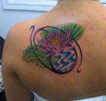 Cancer Sign and Water Lily by PainlessJames