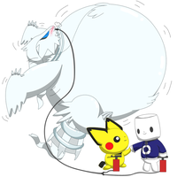 Inflated Reshiram by selphy6