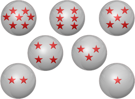 Red and White DragonBall Z request by KalEl7