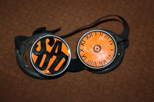 System Of A Down Goggles by Fangschrecke