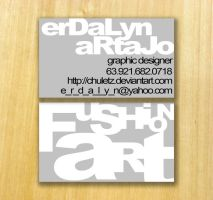 FushionART business card by chuletz