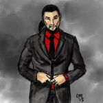 Sektor in a suit by CaTigeReptile