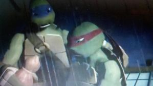 Donnie helping Raph in Vengeance is Mine by NinjaTurtleFangirl