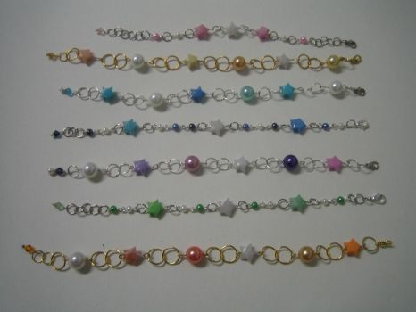MMPPP Origami Bracelets by Crysantha