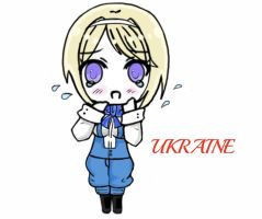 Chibi Ukraine by A-Gentle-Flower