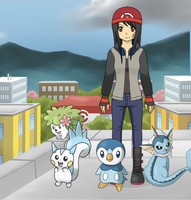 Yuki and her team by Yuki-the-Trickster