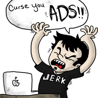 I hate ads by Awko-Talko