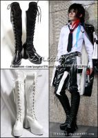 Shoes : Boots for Cosplay 01 by Zeasonal