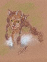 Kitty sketch by SoraCeres