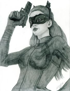 Anne Hathaway as Catwoman by PaulMichaels