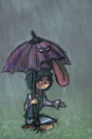 this rain is icky by rubin55