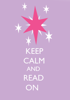 Keep Calm And Read On by SuperNiall64