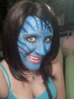 Avatar Makeup Test by Tejnin