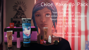 LiS - Chloe Make-Up Pack by angelic-noir
