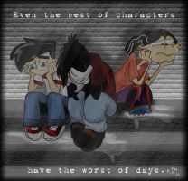 Best Characters, Worst Days by Merice
