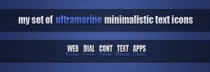 Ultramarine Icons by SF2Gcrew