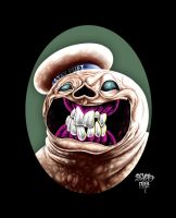 Stay Puft the Marshmallow Monster by sevasone