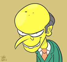 Villains Month - Mr Burns by Bogswallop