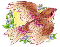 ACEO songbird by soulwithin465