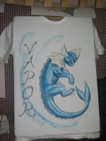 Vaporeon Tshirt by Canyx