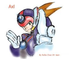 Axl canvas test by Soul-Rokkuman