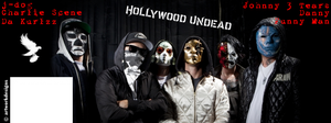 FaceBook Hollywood Undead Cover (New Masks) by ArtWorkDesigns