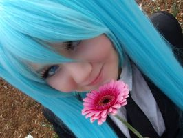 Miku Hatsune Cosplay Smile for you by Moin2D