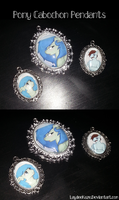 Pony Pendants~ by LaydeeKaze