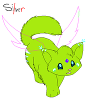 Fairy Kitty Base by SilverBases