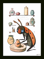 The Scarab Potter by MaryCapaldi