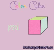Color Cube PSD by TutosHoney