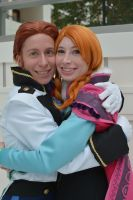 Anna and Hans by RougeLeaderRed