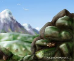 CB - Algere - Lemming nests by Blue-Uncia