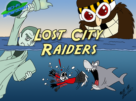 Sci-Fi Showdown: Lost City Raiders by FractiousLemon