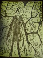 Slender Man Drawing 2 by TheOnlyLuciferSyxxx